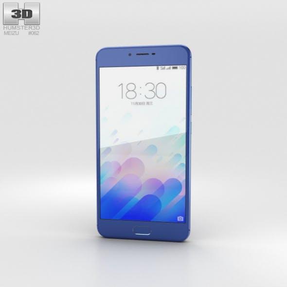Meizu M3x Blue - 3DOcean Item for Sale