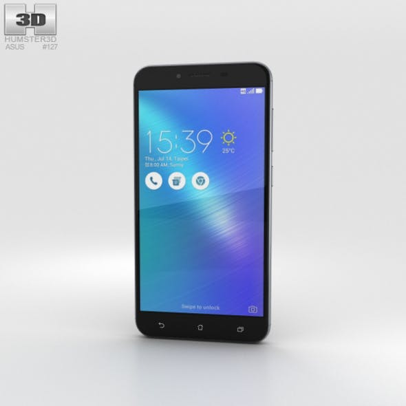 Asus Zenfone 3 Max (ZC553KL) Titanium Gray