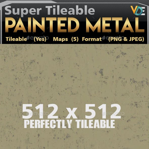 VDE_Painted Metal_Tileable_Texture