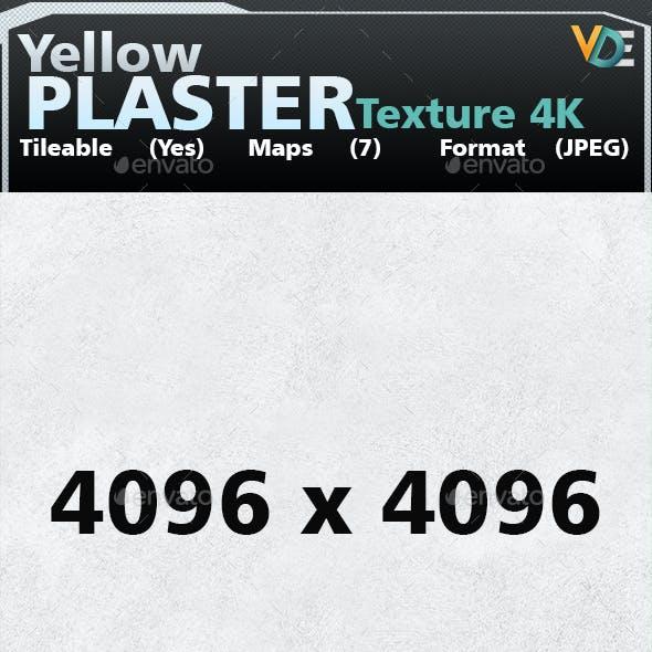 VDE White Plaster Tileable Texture 4K