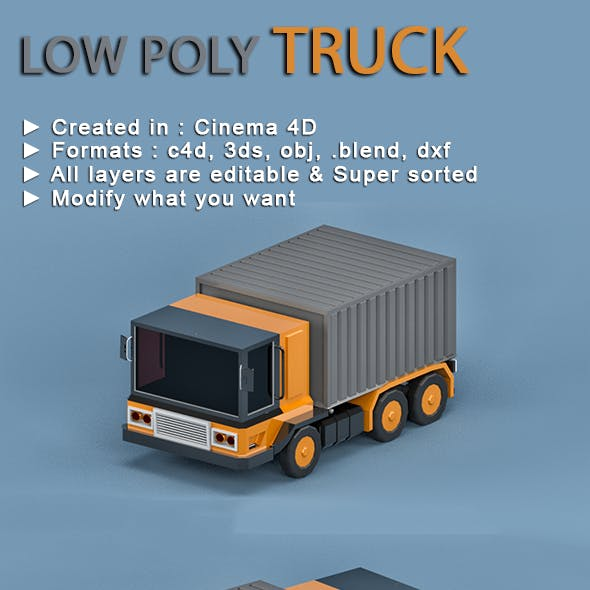 Low-poly Truck