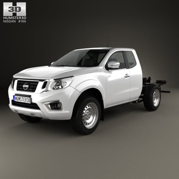 Nissan Navara King Cab Chassis 2015 - 3DOcean Item for Sale