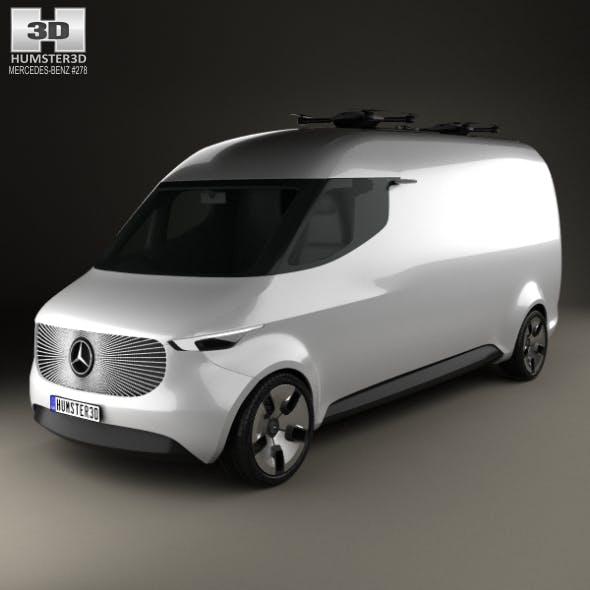 Mercedes-Benz Vision Van 2016 - 3DOcean Item for Sale