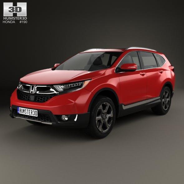 Honda CR-V Touring 2017 - 3DOcean Item for Sale