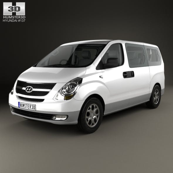 Hyundai iMax with HQ interior 2010 - 3DOcean Item for Sale
