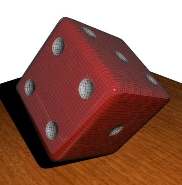 Simple Dice - 3DOcean Item for Sale
