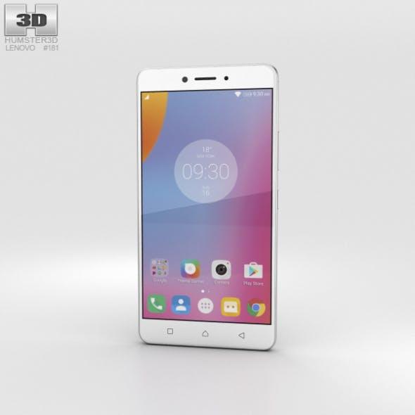 Lenovo K6 Note Silver - 3DOcean Item for Sale