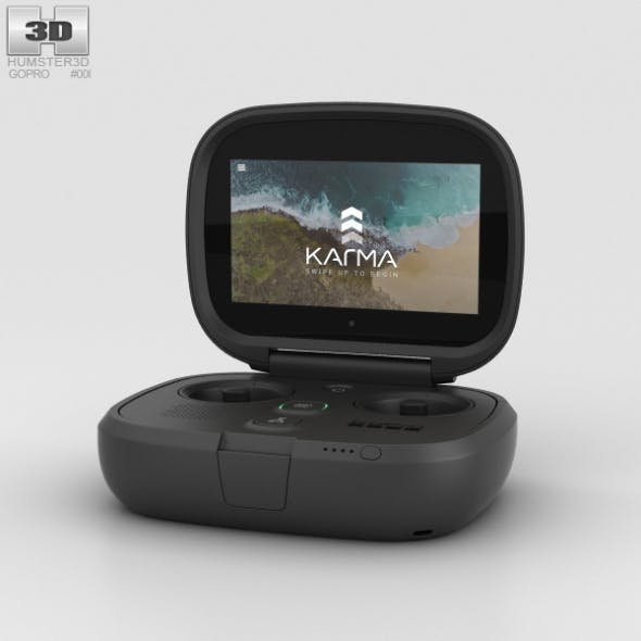 GoPro Karma Controller - 3DOcean Item for Sale