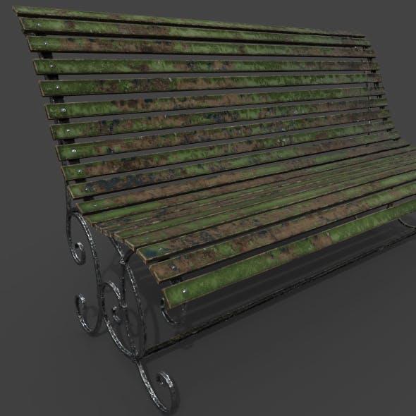 Old bench - 3DOcean Item for Sale