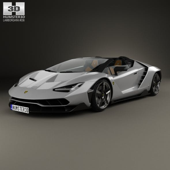 Lamborghini Centenario roadster 2017 - 3DOcean Item for Sale