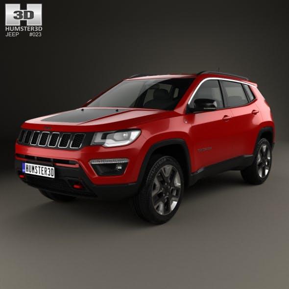 Jeep Compass Trailhawk (Latam) 2016 - 3DOcean Item for Sale