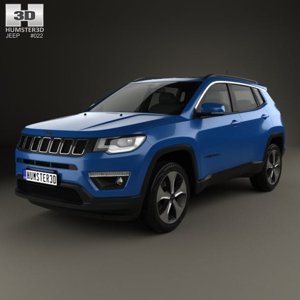 Jeep Compass Longitude (Latam) 2016 - 3DOcean Item for Sale