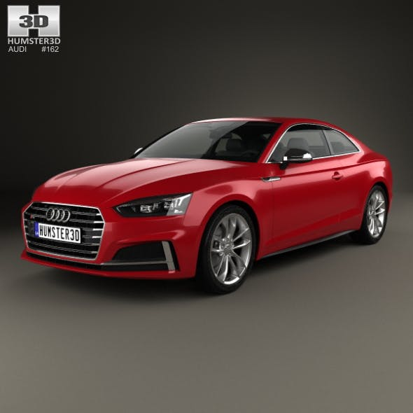 Audi S5 coupe 2017 - 3DOcean Item for Sale