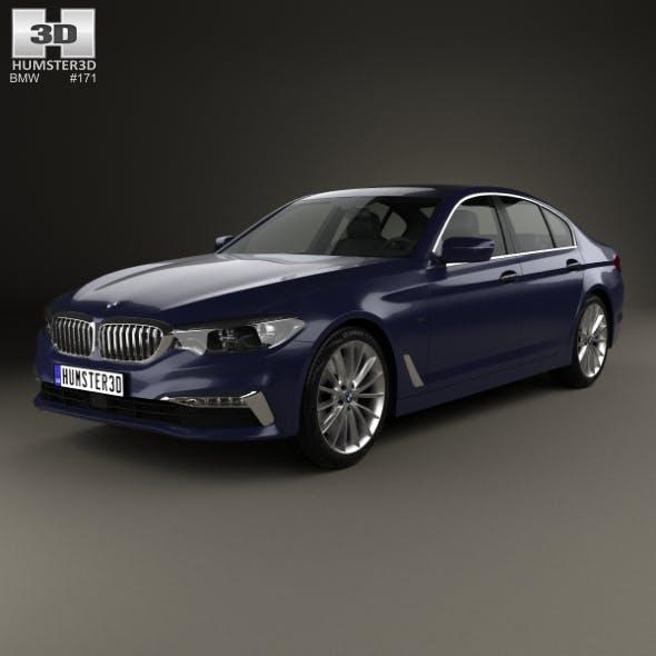 BMW 5 Series (G30) Luxury Line 2017