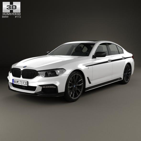 BMW 5 Series (G30) M Performance Parts 2017