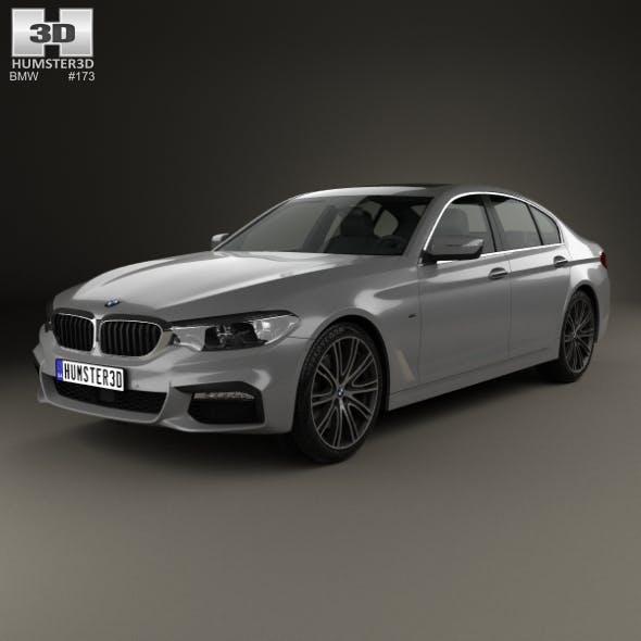 BMW 5 Series (G30) M Sport 2017