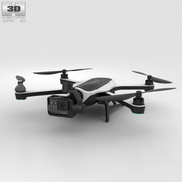 GoPro Karma Drone - 3DOcean Item for Sale