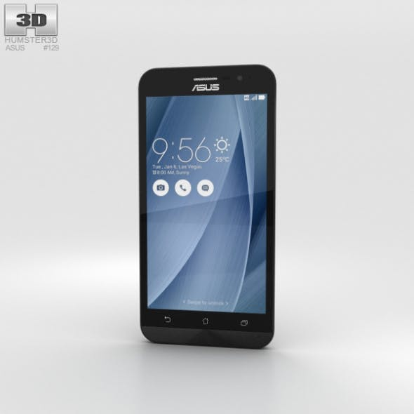 Asus Zenfone Go (ZB500KL) Glacier Gray - 3DOcean Item for Sale