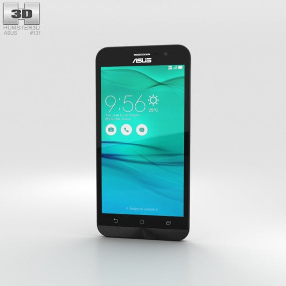 Asus Zenfone Go (ZB500KL) Pearl White - 3DOcean Item for Sale