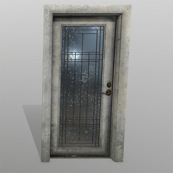 Door_2 - 3DOcean Item for Sale