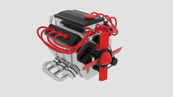Engine Flext - 3DOcean Item for Sale