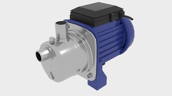 Industrial Self Priming Water Pump - 3DOcean Item for Sale