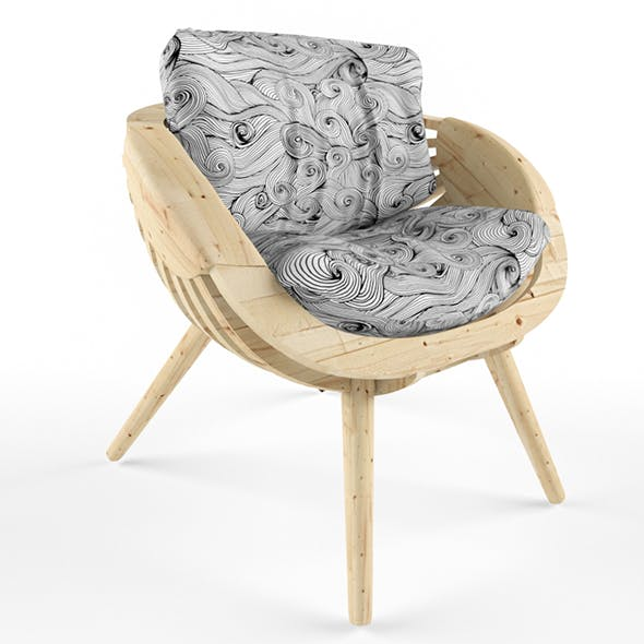 Parametric chair - 3DOcean Item for Sale