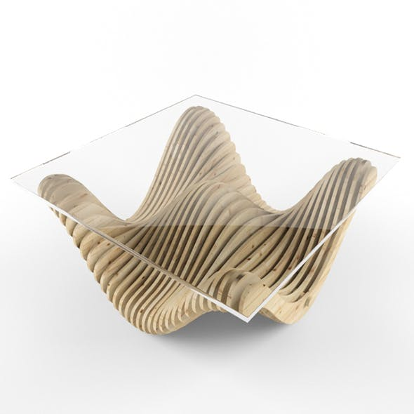 Parametric table - 3DOcean Item for Sale