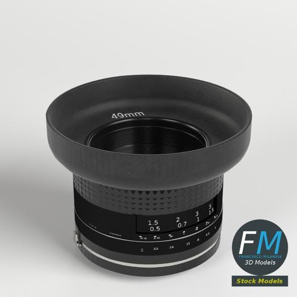 Camera Lens - 3DOcean Item for Sale