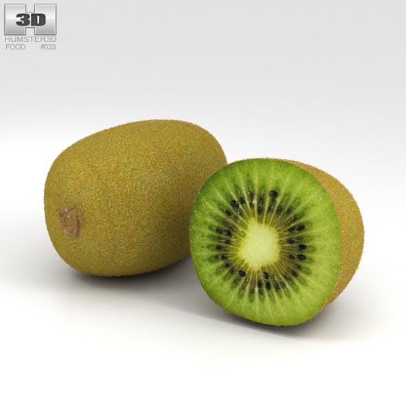 Kiwifruit - 3DOcean Item for Sale