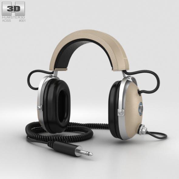 Koss Pro4AA Headphones - 3DOcean Item for Sale