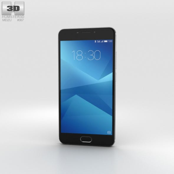 Meizu M5 Note Gray - 3DOcean Item for Sale
