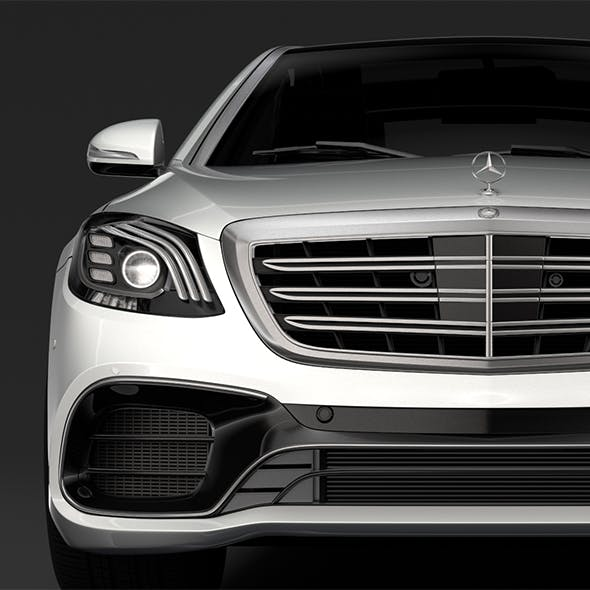 Mercedes AMG S 63 4MATIC W222 2018 - 3DOcean Item for Sale