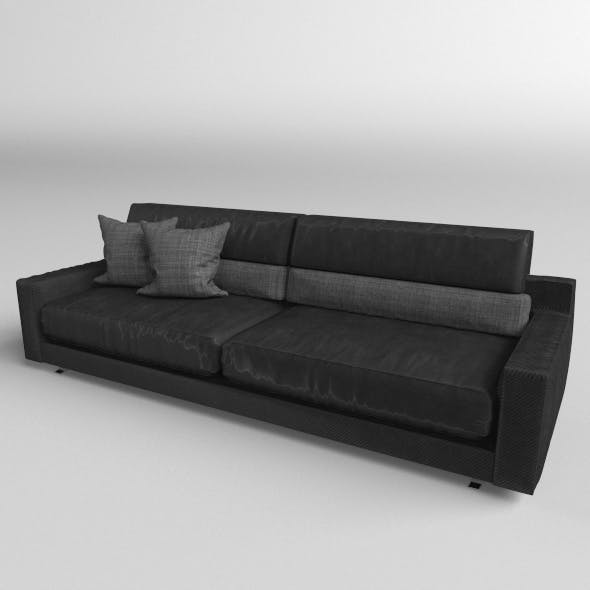 Sofa Modern Model Realistic - 3DOcean Item for Sale