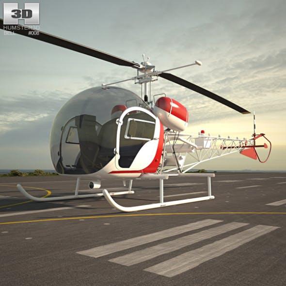 Bell 47 - 3DOcean Item for Sale