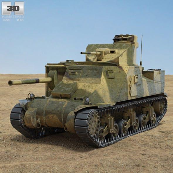 M3 Lee - 3DOcean Item for Sale