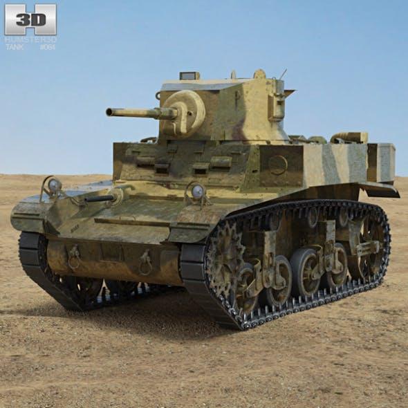 M3 Stuart - 3DOcean Item for Sale