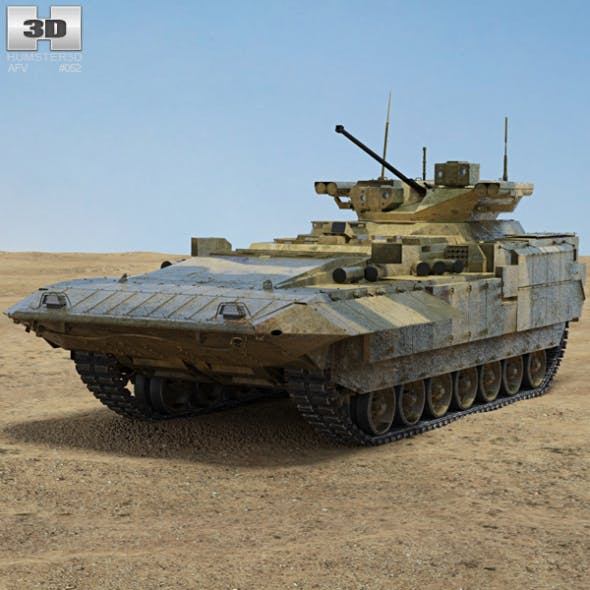 T-15 Armata - 3DOcean Item for Sale