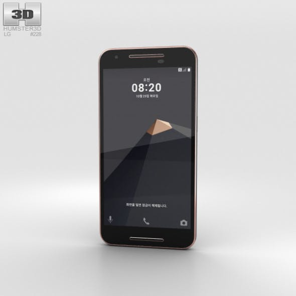 LG U Black - 3DOcean Item for Sale