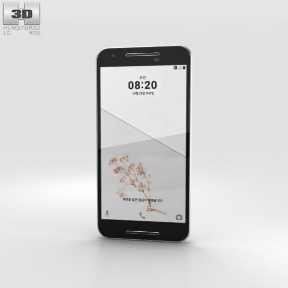 LG U White - 3DOcean Item for Sale