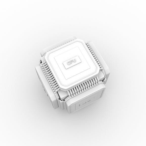 processors - 3DOcean Item for Sale
