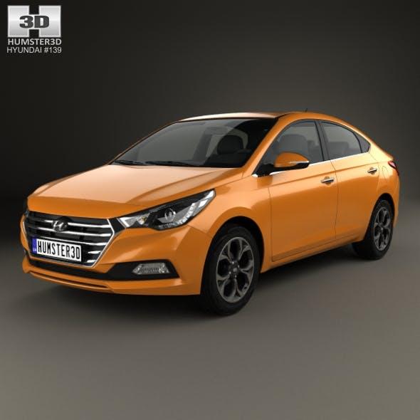 Hyundai Verna (Accent) 2017