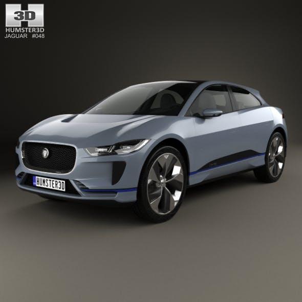 Jaguar I-Pace 2016 - 3DOcean Item for Sale