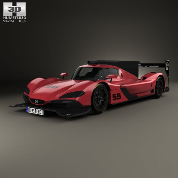 Mazda RT24-P Racecar 2017 - 3DOcean Item for Sale