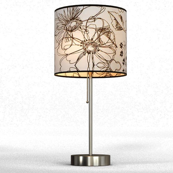 """Doubloon Cove 19.5"""" Table Lamp - 3DOcean Item for Sale"""