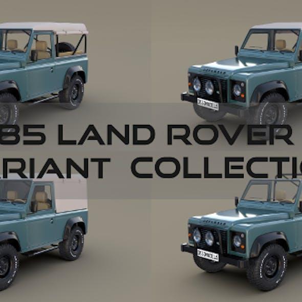 1985 Land Rover Defender 90 Pack