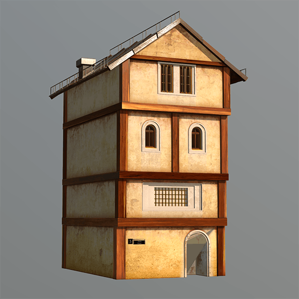 Medieval Fantasy House 4