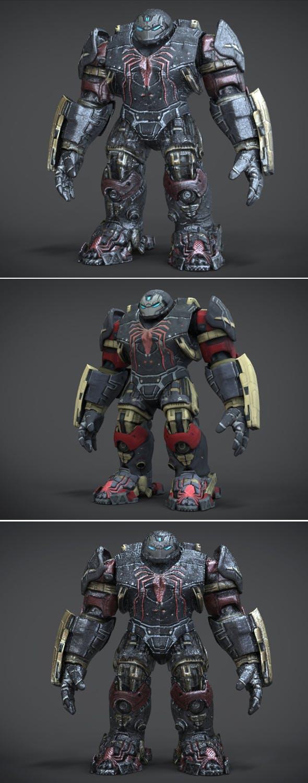 Hulk Venom Buster - 3DOcean Item for Sale