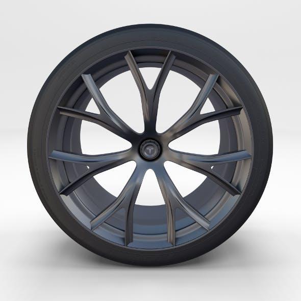 Tesla Roadster Rim