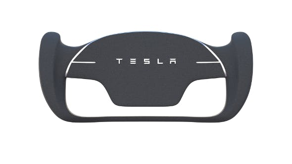 Tesla Roadster Steering Wheel - 3DOcean Item for Sale